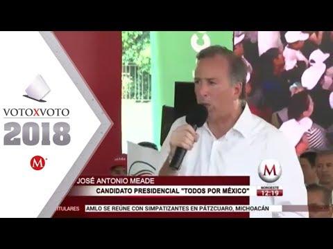 'Con México no se juega', dice Meade tras imposición de aranceles de EU
