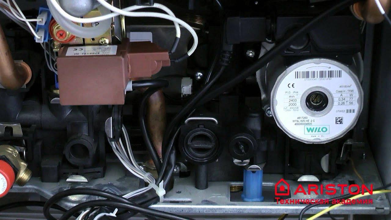 Замена датчика температуры ntc газового котла