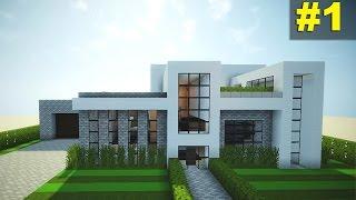 Como fazer uma Casa Moderna no Minecraft #1