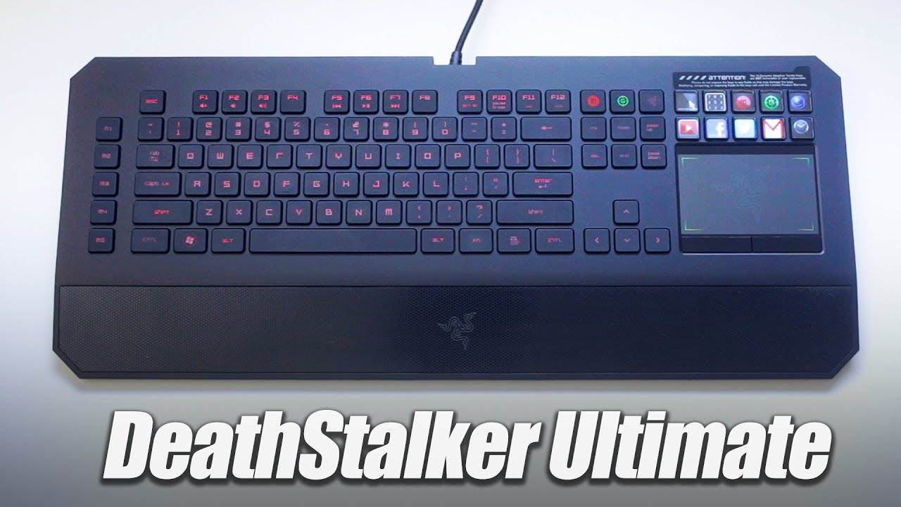 Razer Deathstalker Ultimate Keyboard Drivers Windows 7
