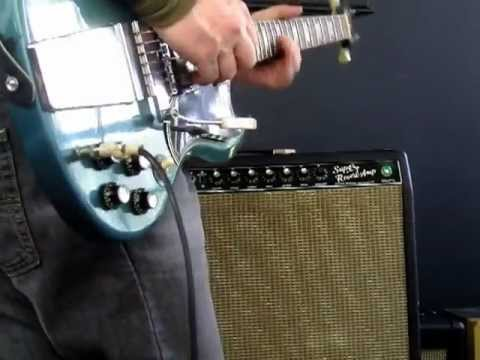 Super Reverb cranked up wth Gibson SG Amp Test!