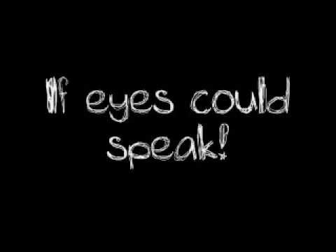 Devon Werkheiser- If Eyes Could Speak:歌詞+中文翻譯