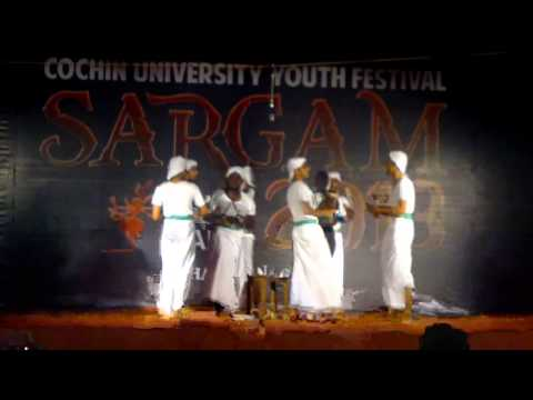 Kolkali Team MEC at Sargam 2013