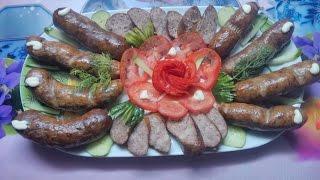 Копчёние колбасы в домашних условиях.