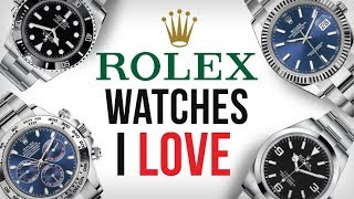 5 Rolex Watches I LOVE & The ONE I Bought
