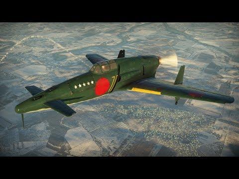 War Thunder (Arcade): J7W1 Shinden - Magnificent Lightning