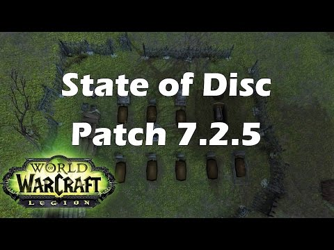 [Legion] State of Disc Priest- Patch 7.2.5