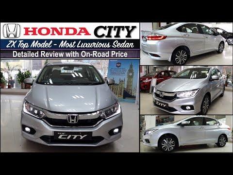 New 2019 Honda City Zx Top Trim Walkaround Review Video