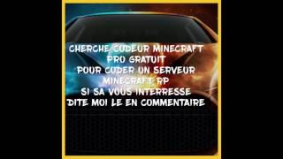 Cherche codeur Minecraft