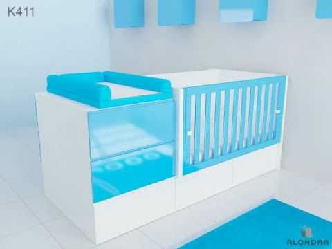 konver evolution kube lit de bb transformable alondra - Lit De Bebe