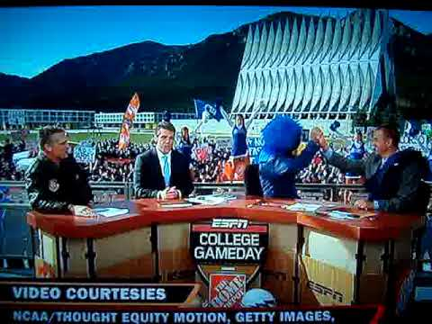 Lee Corso picks Air Force on ESPN College Gameday (http ...