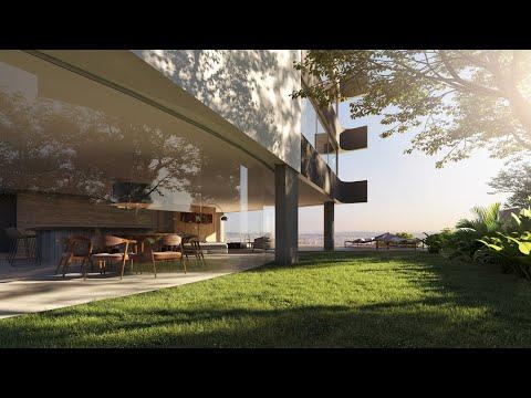 S&R Vista | Um foyer que se abre como extensão de casa