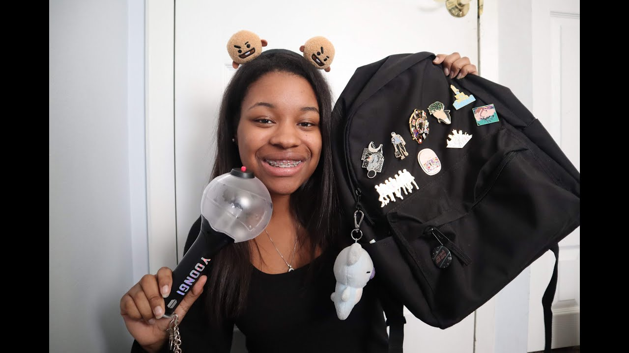 What I Bring To A BTS Concert   Speak Yourself Tour♡