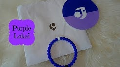 2018 Purple Lokai Alzheimer's Association Bracelet