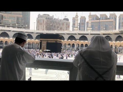 رحلتي إلى مكة المكرمة و اجواء مؤثرة| My Journey to Saudi Arabia 🕋🕌