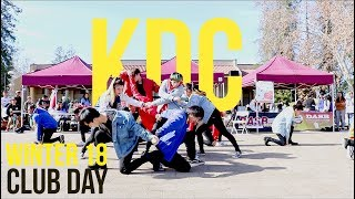KDC at DeAnza Club Day Winter 2018