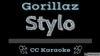 Gorillaz • Stylo (CC) [Karaoke Instrumental Lyrics]