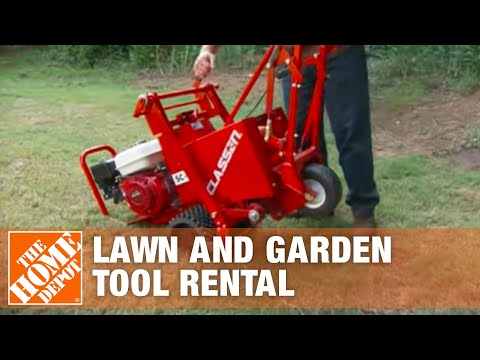 Lawn Tool Rental | The Home Depot