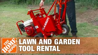 Tool Rental - Lawn Renovation Tools - The Home Depot