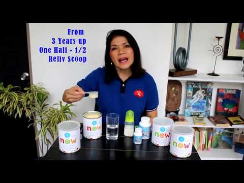 How to Mix Reliv Now for Kids