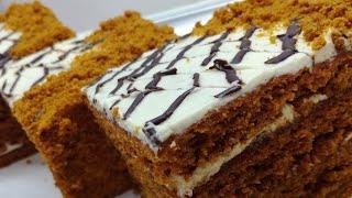 Торт Медовик...Медовый торт таерлаш