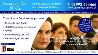 Alexander Ash Cheshunt Chartered Accountants | The Best Chartered Accountants in Cheshunt