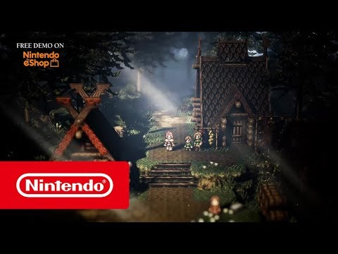 project OCTOPATH TRAVELER (working title) – The journey begins! (Nintendo Switch)