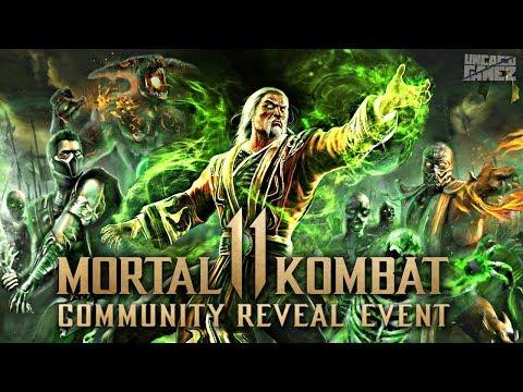 Mortal Kombat : Community Reveal Event Details!!