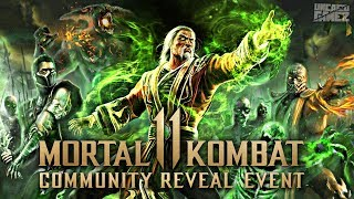 Mortal Kombat 11: Community Reveal Event Details!!