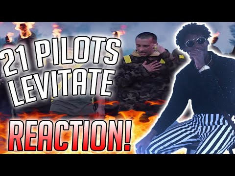 21 Pilots - Levitate REACTION VIDEO!