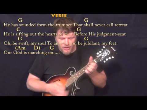 Mandolin mandolin tabs hymns : The Battle Hymn of the Republic - Mandolin Cover Lesson in G with ...