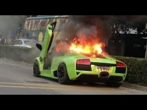 Top Sports Car Crashes Lamborghini Real Youtube
