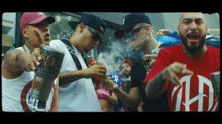 MC Davo, Dharius, C-Kan & Zimple - Préndete Un Blunt (Remix) [Video Oficial]