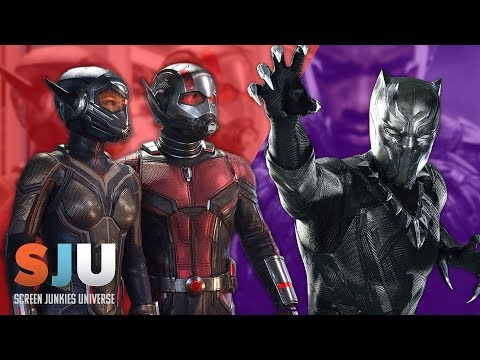 Black Panther First Reactions, New Ant-Man & Wasp Trailer! - SJU