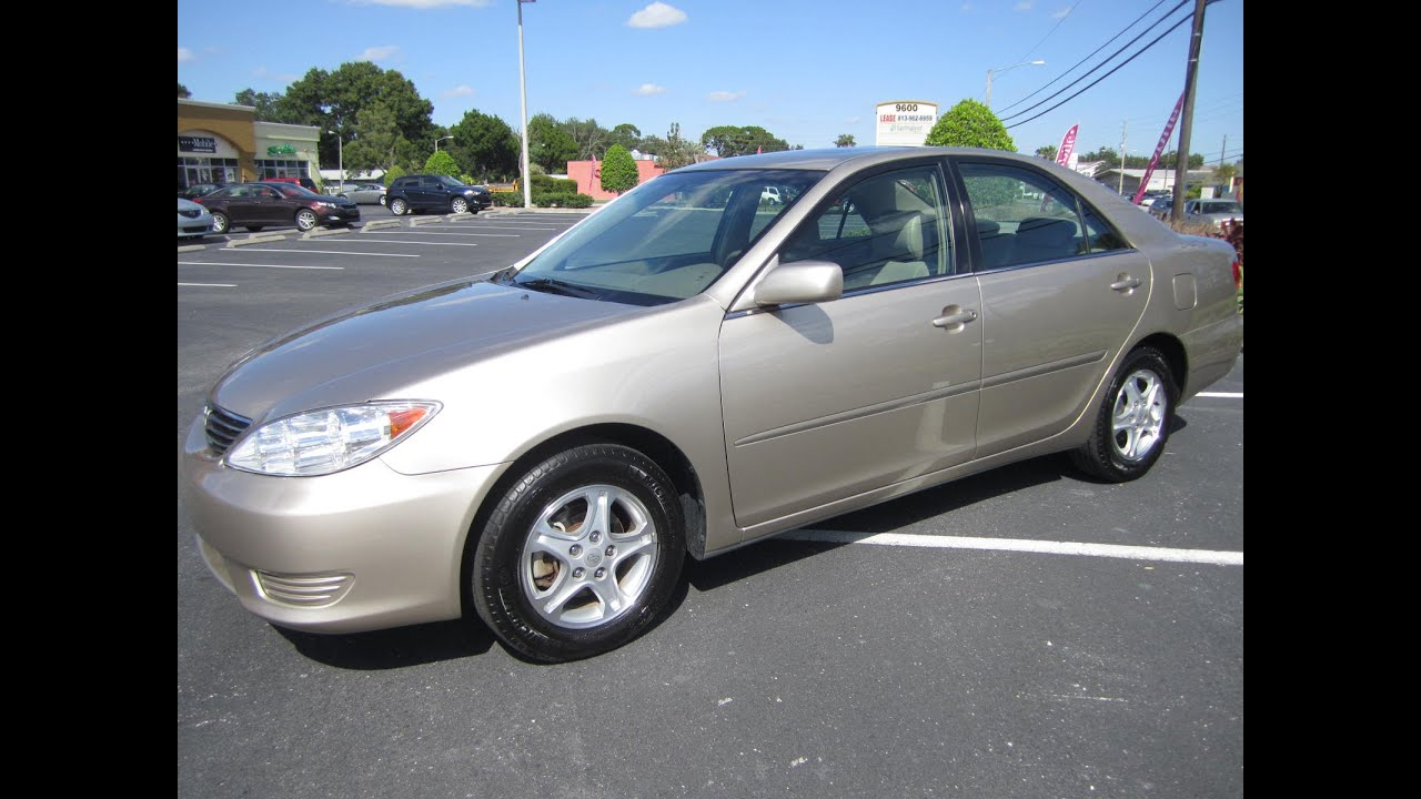 sold 2006 toyota camry le one owner meticulous motors inc florida for sale. Black Bedroom Furniture Sets. Home Design Ideas