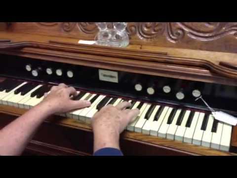 1892 Beckwith Pump Organ