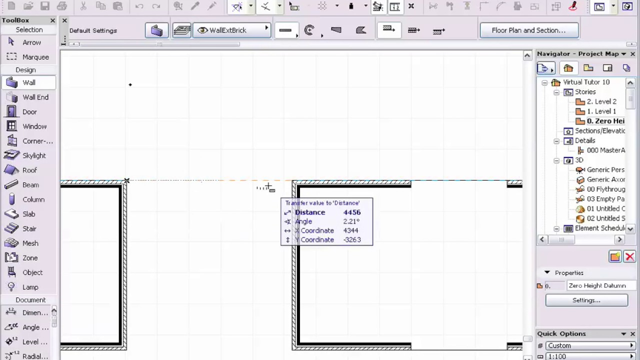 how to change measurement units in archicad