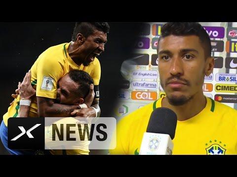 Hattrick? Paulinho: Nicht im Traum I Uruguay - Brasilien 1:4 | WM-Qualifikation
