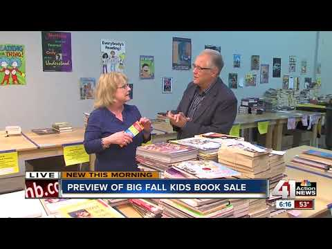 Friends of Johnson County Library hosts annual fall book sale