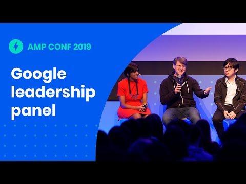 Google Leadership Panel (AMP Conf '19)