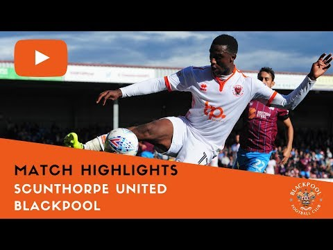 Match Highlights | Scunthorpe United 0 Blackpool 0