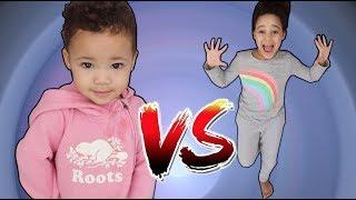 Baby Sister Dance Battle | FamousTubeKIDS
