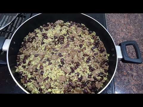 Quick One Pot Beef And Rice Dinner