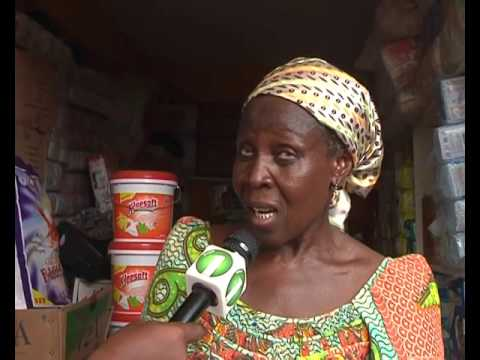 Traders occupying the new Tamale Central Market stores are complaining of excessive heat 16