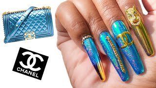 Nails Match my Bag 👜 Chanel Boy Bag (Episode 1)