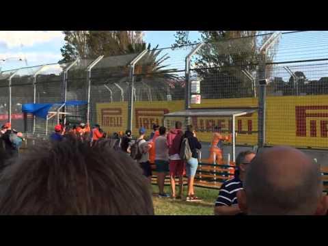F1 Australian GP 2016 final lap Red Bull Daniel Ricciardo