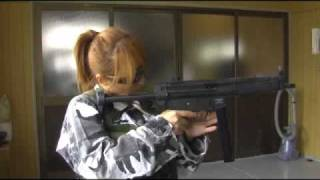 marui old gas blowback mp5a3 カート式モデル