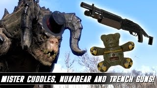 Fallout 4 Mods Week 43 - Mister Cuddlesworth, Nukabear and Trench Guns!