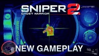 Sniper Ghost Warrior 2 Gameplay Preview - CryEngine 3! Stealth! New Gameplay!