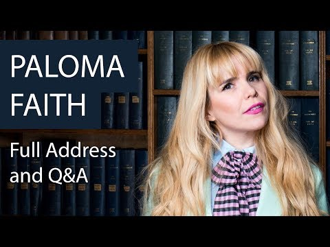 Paloma Faith | Full Address and Q&A | Oxford Union
